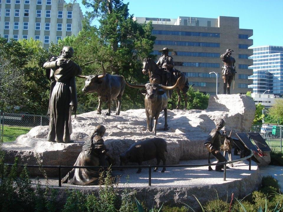 Tejano Monument at Texas State Capitol